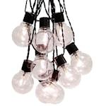 822012 LED partybelysning 16 ljus klar svart kabel 4,5m