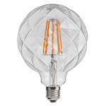 821735 Unison glob crystal G125 2W 120lm 2200K E27