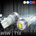 280204 LED fordonslampa 2-pack 0,7W blå T10 (W5W)