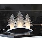 140802 Ljusstake LED Plexi Tree