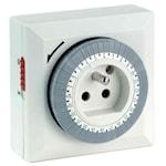 821718 Klockströmbrytare för lamputtag jordad 30min
