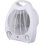 821309 Värmefläkt vit 2000W med kalluftläge och två effektlägen