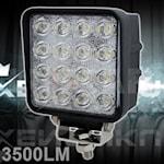280102 Luxtar arbetsbelysning 48W 16LED 2600lm 5500K