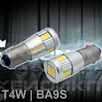 280501 BA9S Canbus 6SMD 2,2W 6000K