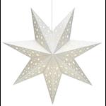 824484 Markslöjd pappersstjärna Solvalla 45cm silver