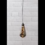 824384 Batteridriven hängande dekoration Glow svart