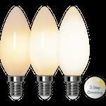 825366 LED kronljus opal 3-steg 4W 380lm 2700K E14