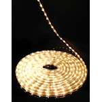 821342 LED Ljusslang 216 ljus 6m diameter 12,5mm varmvit