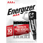 825012 Batteri AAA 4-pack Energizer Max