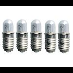 149205 Microlampa 5-pack 12V 0,6W klar E5