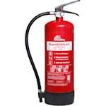 821701 Nexa brandsläckare 6kg ABC-pulver väggfäste röd