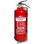 821700 Nexa brandsläckare 2 kg ABC-pulver väggfäste röd