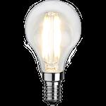 825456 LED litet klot klar 12V 2,2W 250lm 2700K E14