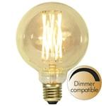 821621 Decoration LED stor glob 3,8W 240lm 1800K dimbar G95 E27