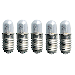 149305 Microlampa 5-pack 12V 1,2W klar E5