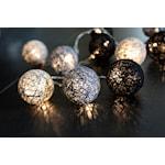 821518 Jolly light 10L LED trådbollar svart