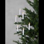 825317 Julgransbelysning Flamme 10 ljus batteri med timer
