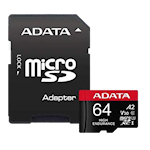 825345 ADATA microSDXC, SD 64Gb - A2/Video Class V30/UHS-I U3/Class10 - mikroSDXC UHS-