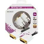 821344 DVI monitorkabel Dual Link, hane - hane 2m