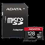 825344 ADATA microSDXC, SD 128 GB - A2/Video Class V30/UHS-I U3/Class10