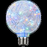 824877 LED stor glob RGB blinkande ljus 1,5W 15lm G95 E27