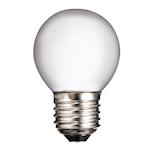 824163 Glödlampa litet klot frostad 25W 150lm 2700K E27