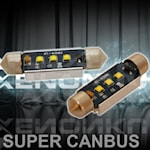 280402 LED 3W spollampa 3W 229lm 6000K 42mm C5W super canbus