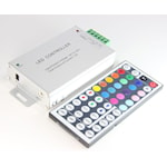 404601 RGB styrenhet IR 144W med fjärrkontroll 44 knappar