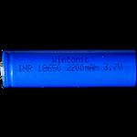 824139 Uppladdningsbart batteri 18650 3,7V 2000mAh
