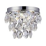 824641 Markslöjd Isobel kristallplafond 3-ljus 27cm E14