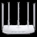 824659 TP-Link AC1350 Trådlös Dual Band Router 802.11ac upp till 867 Mbps 5 antenner vit